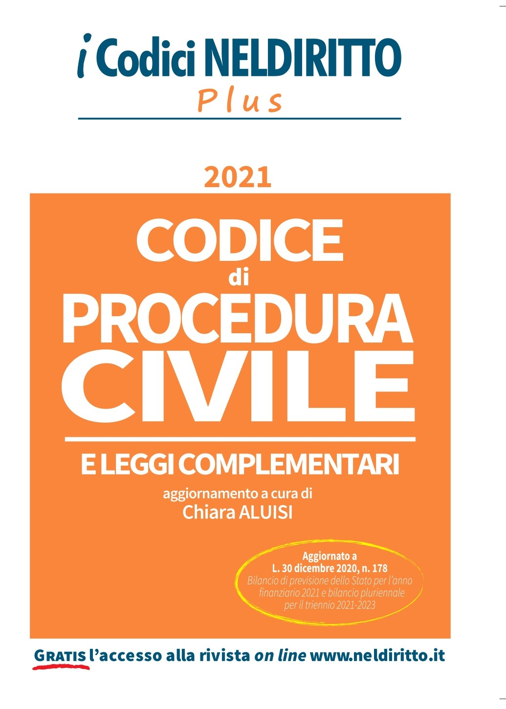 Codice Procedura Civile Plus 2021
