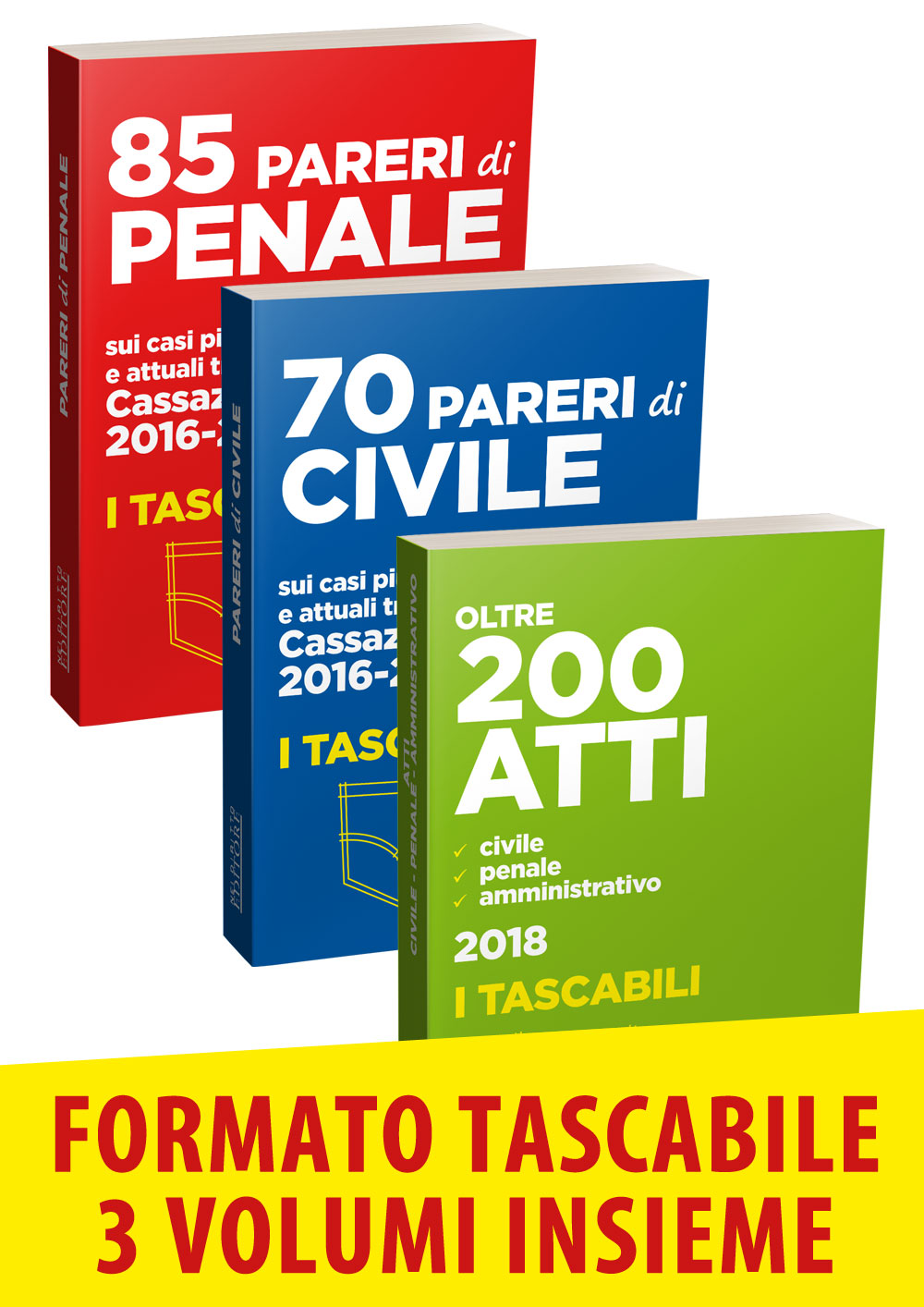 PARERI DI CIVILE, PENALE E ATTI POCKET 2018