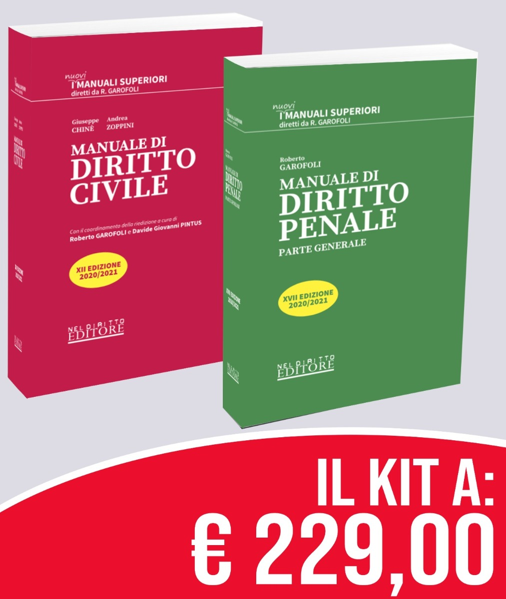Kit Manuali Superiori Civile +  Penale � PREVENDITA