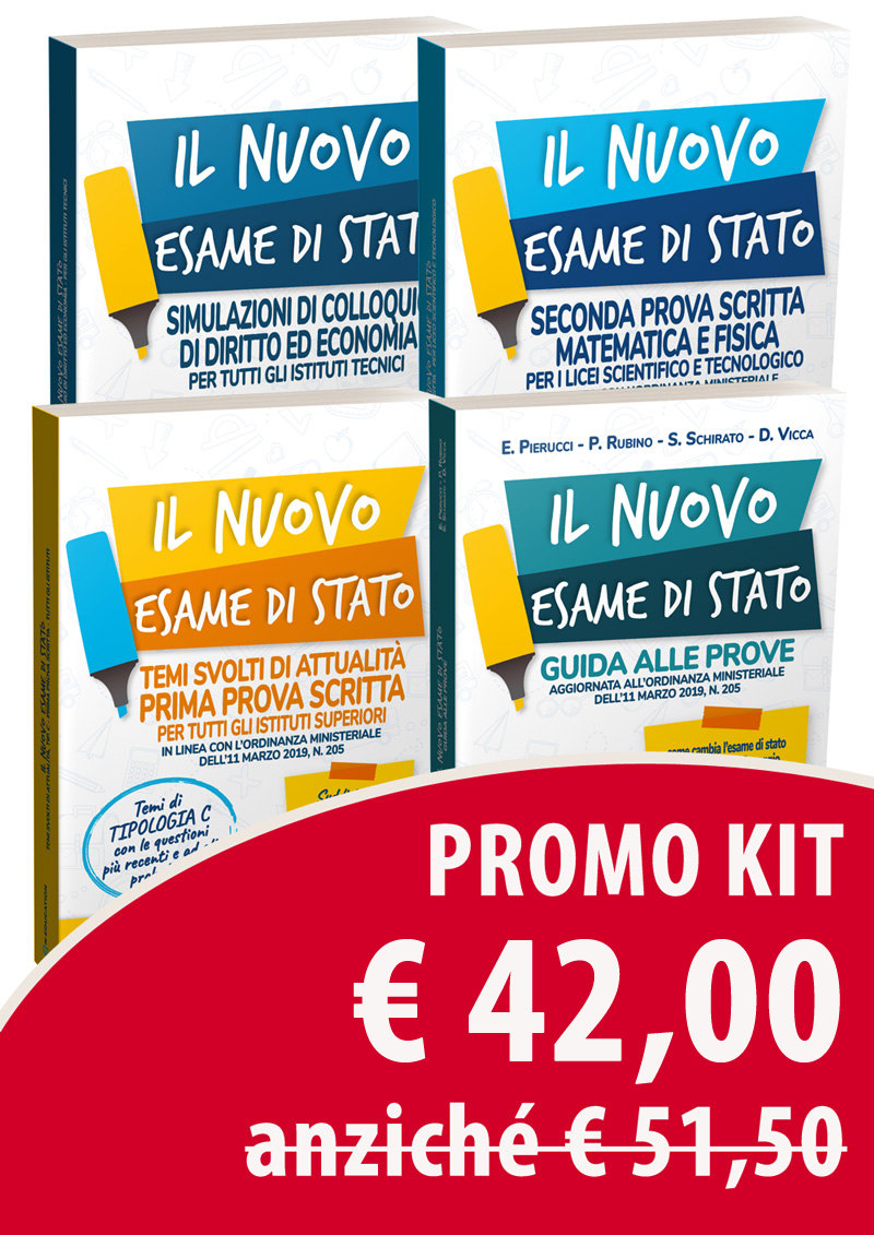 Maturità 2019 - Kit Liceo Scientifico