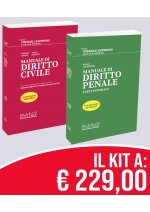 Kit Manuali Superiori Civile +  Penale – PREVENDITA