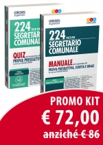 Kit Segretario Comunale: Manuale  + Quiz