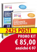 2 - Kit Dirigente Scolastico Manuale + Test