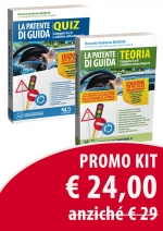 Kit Patente Di Guida. Manuale Teorico. Categorie A E B E Relative Sottocategorie. Quiz. Categorie A E B E Relative Sottocategorie Kit Manuale Teorico + Quiz