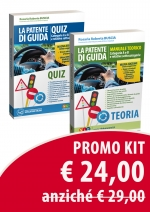 kit patente di guida. Manuale teorico. Categorie A e B e relative sottocategorie. Quiz. Categorie A e B e relative sottocategorie