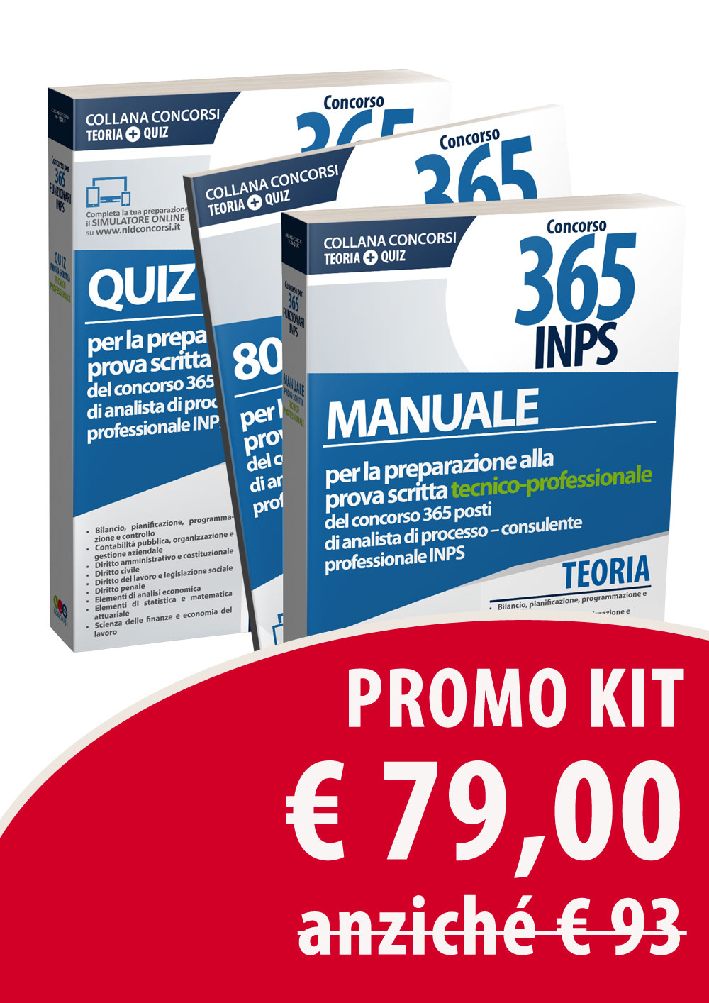 Kit Manuale + QUIZ commentati prova Tecnico-Professionale