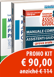 Kit orale cancelliere + 2 manuali brevi