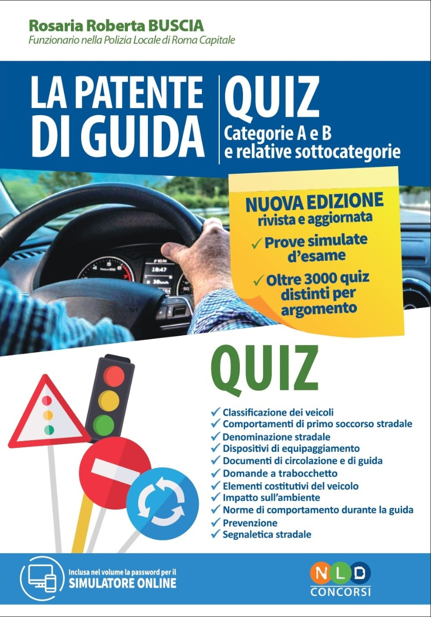 Patente di Guida - Quiz Categorie A e B e relative sottocategorie